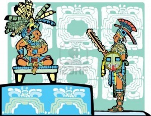 re maya e guerriero