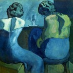 donne al bar - Picasso